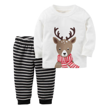 jcpenney.com | Carter's Unisex 2-pc. Long Sleeve Pant Set-Baby