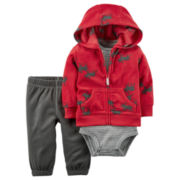 Carter's Boys 3 pc Layette Set-Baby 0-24 Mos