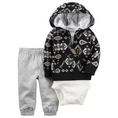 jcpenney.com | Carter's Boys 3-pc. Layette Set-Baby
