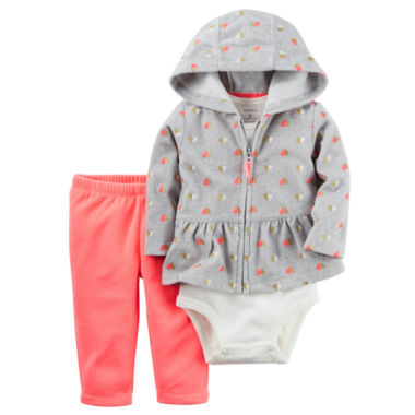 jcpenney.com | Carter's Girls 3-pc. Pant Set-Baby