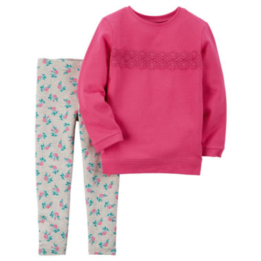 jcpenney.com | Carter's 2-pc. Pant Set Baby Girls