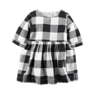 jcpenney.com | Carter's Long Sleeve A-Line Dress - Baby