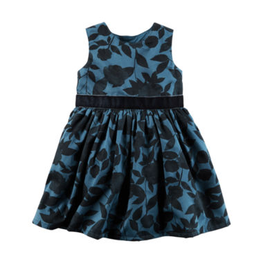jcpenney.com | Carter's Short Sleeve Babydoll Dress - Baby Girls