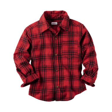 jcpenney.com | Carter's Boys Long Sleeve Button-Front Shirt