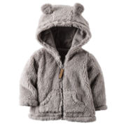 Carter's Boys Midweight Fleece Jacket-Baby