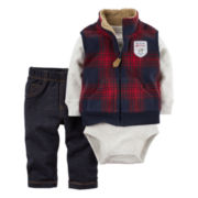 Carter's Boys Long Sleeve Pant Set-Baby