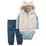 Carter's Boys Long Sleeve Pant Set-Baby