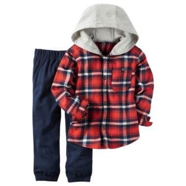 jcpenney.com | Carter's Boys 2-pc. Long Sleeve Pant Set-Toddler