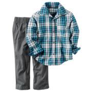 Carter's Boys Long Sleeve Pant Set