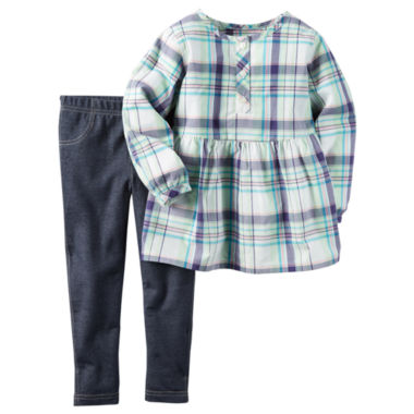 jcpenney.com | Carter's Girls 2-pc. Long Sleeve Pant Set-Toddler
