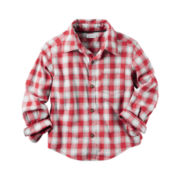 Carter's Boys Button-Front Shirt
