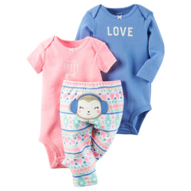 jcpenney.com | Carter's Girls Layette Set-Baby