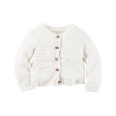 jcpenney.com | Carter's Long Sleeve Cardigan - Baby
