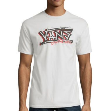 jcpenney.com | Vans® Short-Sleeve Punk'd Out Cotton Tee