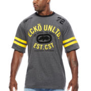Ecko Unltd.® Superior Short-Sleeve Knit Crew Tee - Big & Tall