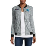Miss Chevious Patch Bomber Jacket - Juniors