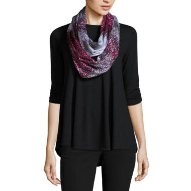 jcpenney.com | by&by Elbow-Sleeve Knit Trapeze Top with Scarf  - Juniors