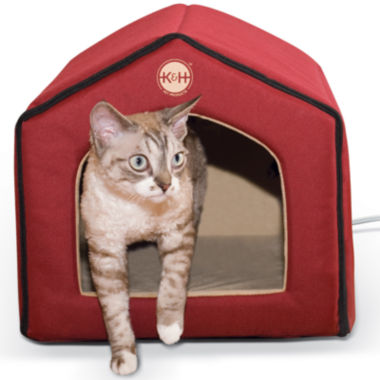 "jcpenney.com | K & H Manufacturing Thermo-Indoor Pet House 16"" x 15"" x 14"" 4 Watts"