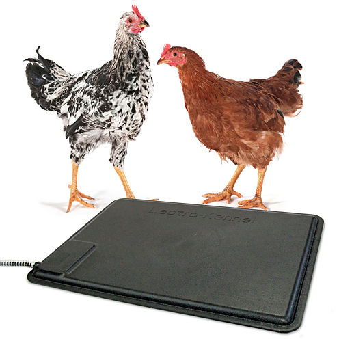 "K & H Manufacturing Thermo-Chicken Heated Pad 12.5"" x 18.5"" - 40 Watts"