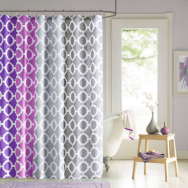 jcpenney.com | 90° by Design Lab Dani Shower Curtain and Hook Set