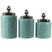 Jay Imports 3 pc Canister