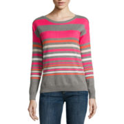 Liz Claiborne® Long Sleeve Sweater