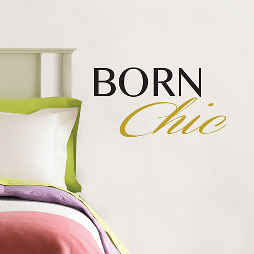 Brewster Wall Born Chic Wall Quote Wall Decal