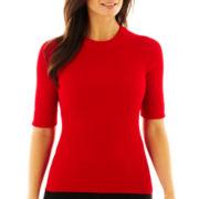 Worthington® Ribbed Crewneck Sweater