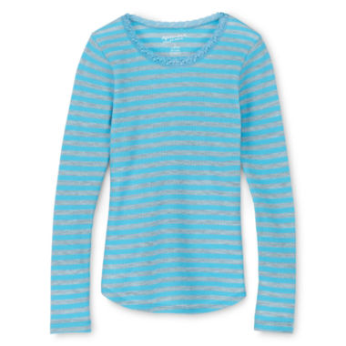 jcpenney.com | Arizona Fave Thermal Tee - Girls 6-16 and Plus