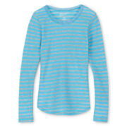 Arizona Fave Thermal Tee - Girls 6-16 and Plus