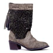 MUK LUKS® Carla WomensTassel Western Boots