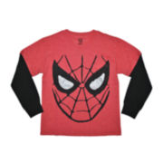 Spider-Man Long-Sleeve Graphic Tee – Boys 4-7