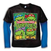 Teenage Mutant Ninja Turtles Long-Sleeve Graphic Tee – Boys 2t-5t