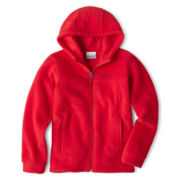 Columbia® Zip-Front Fleece Hoodie - Boys 6-18