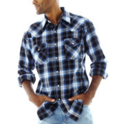 Ely Cattleman® Western Brawny Flannel Shirt–Big & Tall