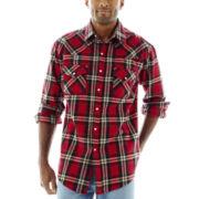 Ely Cattleman® Western Brawny Flannel Shirt