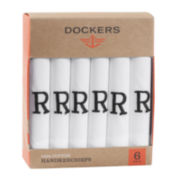 Dockers® 6-pk. Monogrammed Hankie Set