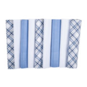 Dockers® 9-pk. Blue/White Hankie Set
