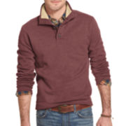 Arrow® Long-Sleeve Pullover with Sherpa Collar