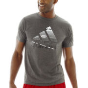adidas® Photo Logo Football Tee