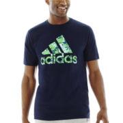 adidas® Digi Camo Logo Tee