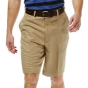 Haggar® Cool 18® No–Iron Shorts–Big & Tall