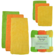 Citrus 9-pc. Kitchen Cleaning Set