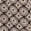 Black/ivory Print
