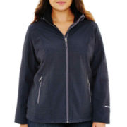 Free Country® Classic Lightweight Soft Shell Hooded Jacket - Plus