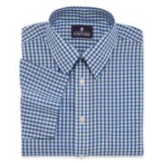 Stafford® Short-Sleeve Broadcloth Dress Shirt–Big & Tall