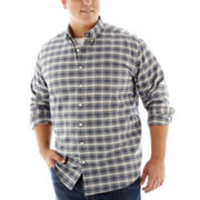 The Foundry Supply Co.™ Long-Sleeve Easy Care Oxford Shirt–Big & Tall