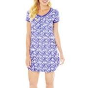 Grand & Essex Short-Sleeve Cotton Nightshirt