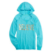 Xersion™ Foil-Print Hoodie - Girls 7-16 and Plus