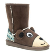 MUK LUKS® Teddy Bear Girls Boots - Toddler